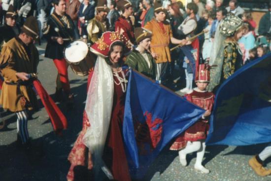 7 Trompettes et Drapeaux du CEP(86)